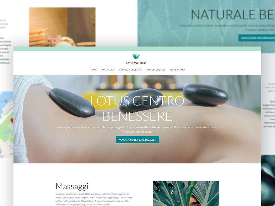 Free Bootstrap One Page Template – Wellness